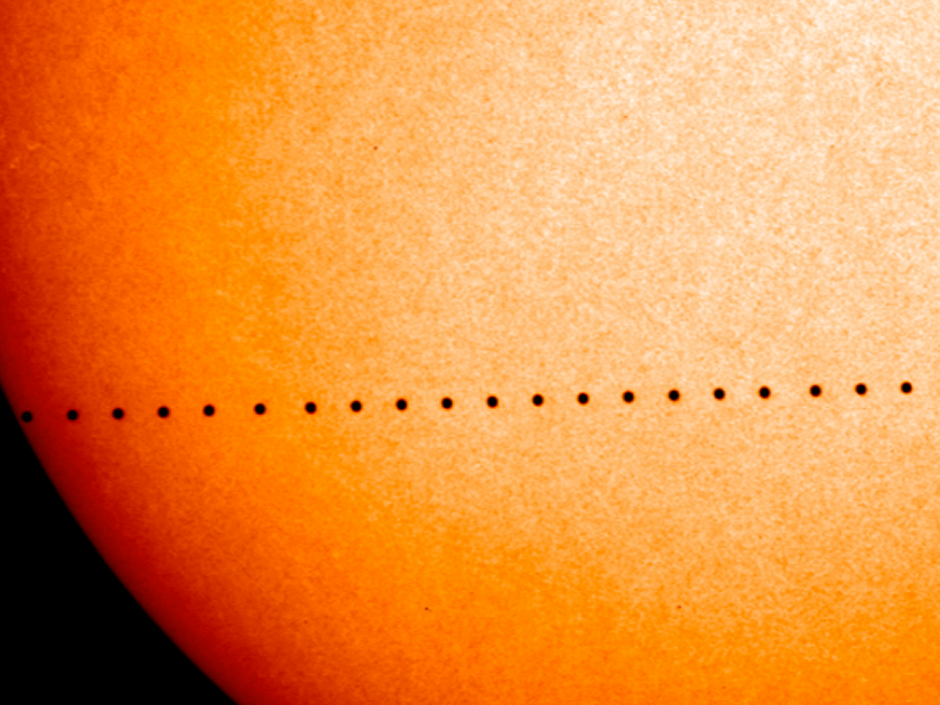 Tránsito de Mercurio del 11 de noviembre de 2019